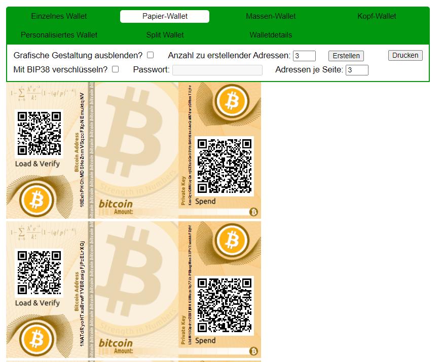 Храните Биткойн безопасно - на бумаге Зона Крипто - новости криптовалют BTC, биткоин, эфириум, алткоин, майнинг, биржи, ICO